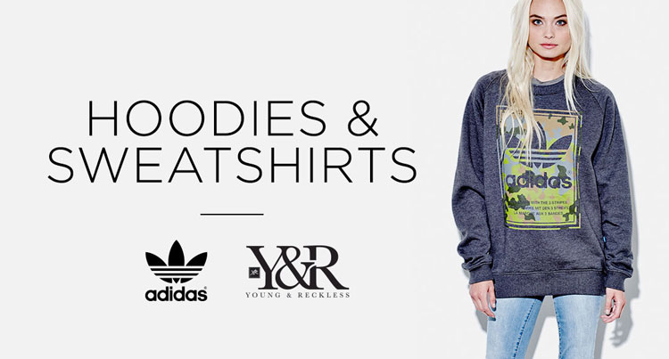 Fleece brands - Adidas Y&R