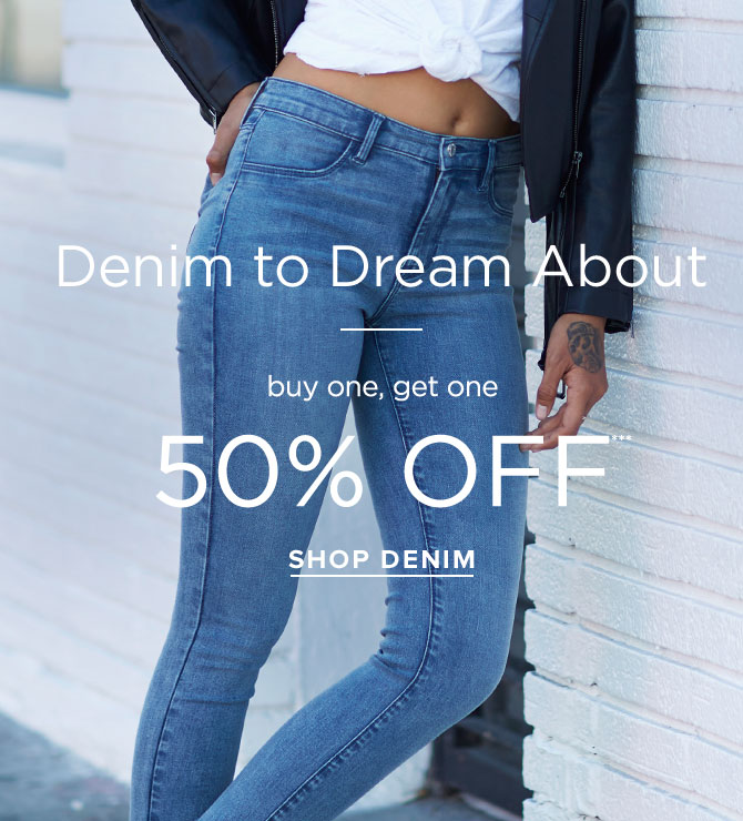 Womens Denim - Dreamy Jegging