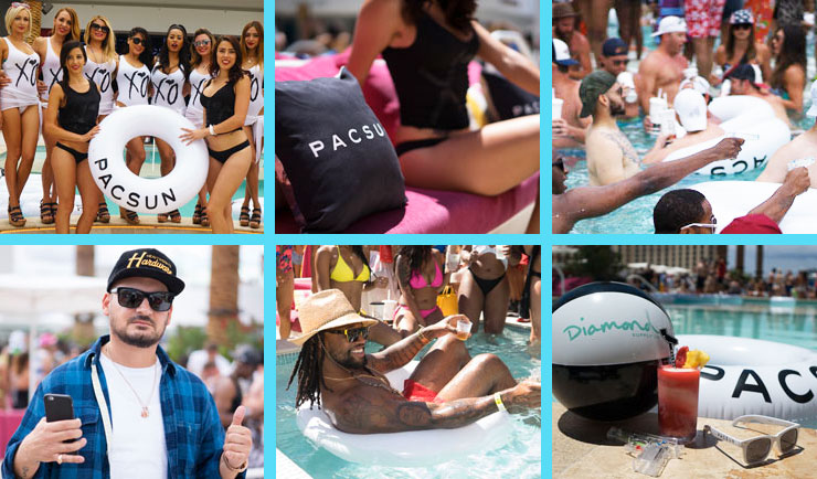 Pool Parties at Drai's Beach Club 2015