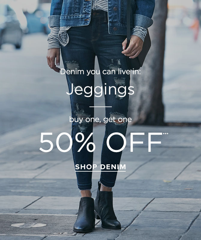 Womens Jeggings - BOGO 50