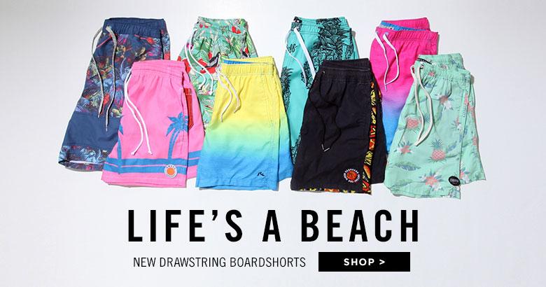 Boardshort Feature - E-waist